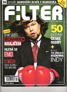 Časopis Filter 10/2006 - Richard Krajčo na titulu