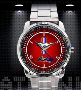 Ford Mustang Sport Logo - hodinky nerezová ocel