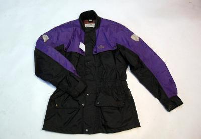 Textilní bunda vel.S s chrániči