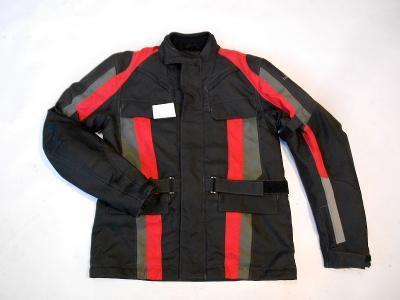 Textilní bunda s pruhy