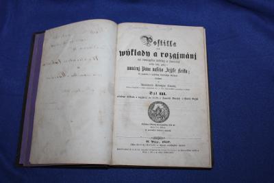 STAROŽITNÁ KNIHA 1857