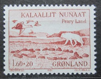 Grónsko 1981 Krajina v Pearyland Mi# 130 0254