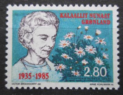 Grónsko 1985 Královna Ingrid Dánská Mi# 159 0259