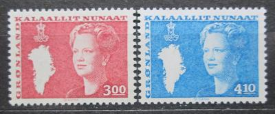 Grónsko 1988 Královna Markéta II. Mi# 179-80 0260