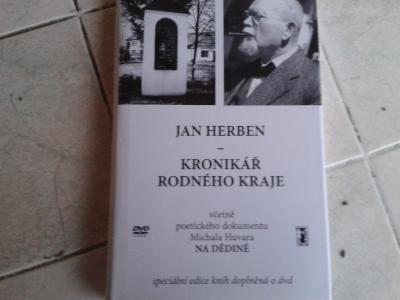 JAN HERBEN: KRONIKÁŘ RODNÉHO KRAJE + DVD - NOVÁ
