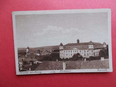 Zlín Kroměříž  Holešov Gottwaldov zámek kostel sv. Anny vydal Petřík