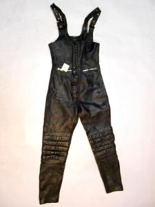 Kožené kalhoty vel. 38 obvod pasu: 72 cm