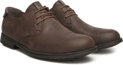 Kvalitní celokožené Camper Mil Oxford šněrovací obuv, velikost EUR 42