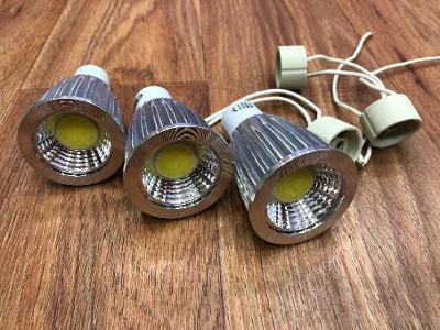 LED žárovka GU10, 230V, 15W, studená bílá, nestmívatelná