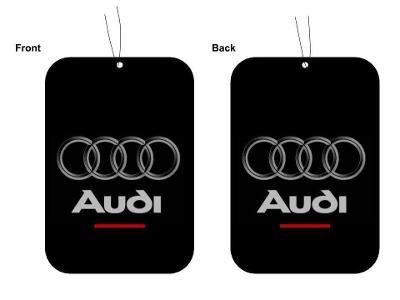 AUDI Logo - osvěžovač vzduchu vůně do auta 9x7