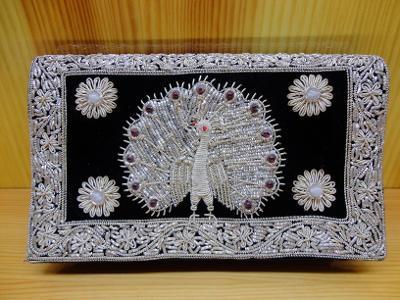 Luxusní černá orientální indická taštička kabelka taška kabela