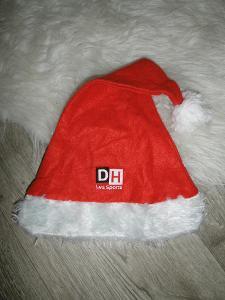 aukce od 1kč - měkká dětská čepice kostým santa