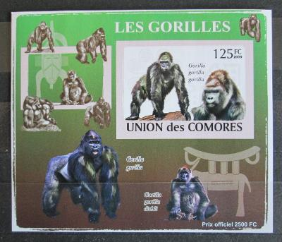 Komory 2009 Gorily neperf. Mi# 2142 B Block 1148