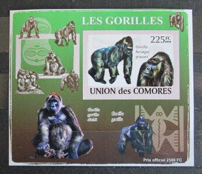 Komory 2009 Gorily neperf. Mi# 2144 B Block 1148