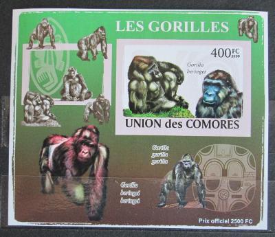 Komory 2009 Gorily neperf. Mi# 2146 B Block 1158