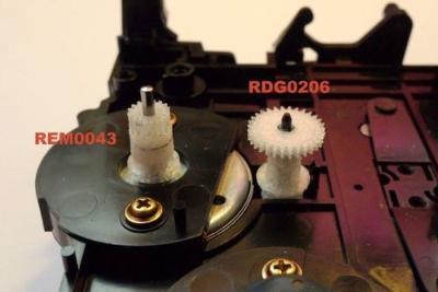 ozubené kolečko RDG0206 Technics Panasonic