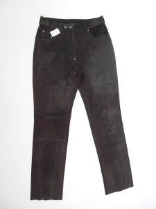 Kožené kalhoty broušené vel.42