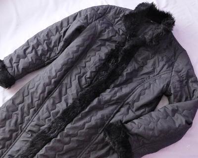 vyteplený kabát OLE  vel.M