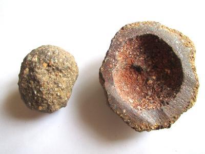 DŽBÁNSKÁ KOULE - ČR. obdoba Moqui marbles (BK 7)