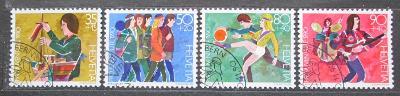 Švýcarsko 1990 Vývoj dítěte Mi# 1431-34 0898