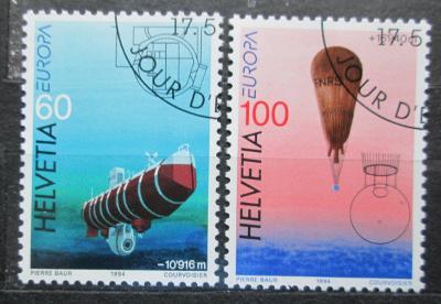 Švýcarsko 1994 Evropa CEPT Mi# 1525-26 0905
