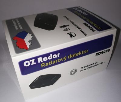 Radarový detektor (antiradar) RD2020 - určeno pro CZ! AKCE!