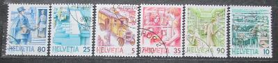 Švýcarsko 1986 Pošta Mi# 1321-26 0294
