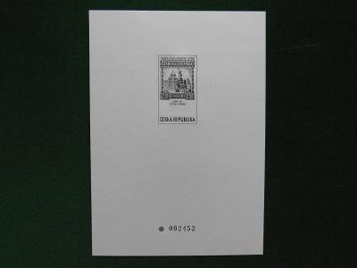 1999 - PT 9 b - Tradice české známkové tvorby 1999