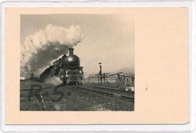 Frenštát pod Radhoštěm - Nový Jičín , lokomotiva , /FX/