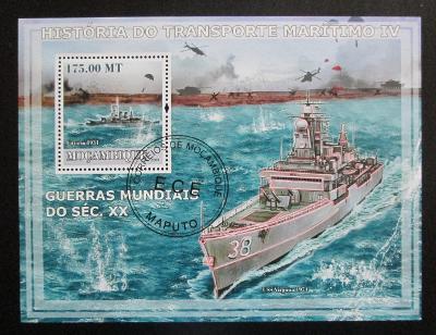Mosambik 2009 Válečné lodě Mi# Block 237 Kat 10€ 1533