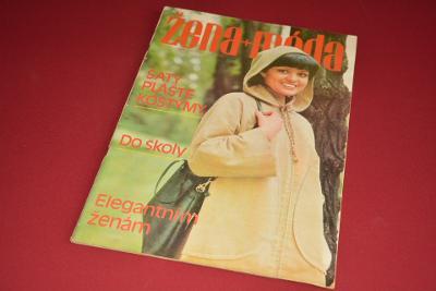 žena a móda 9/1977 včetně střihů