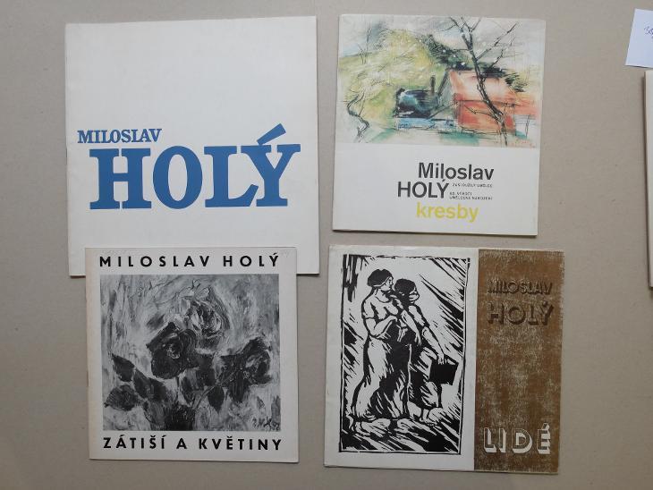 HOLÝ MILOSLAV KATALOGY VÝSTAV - Umění