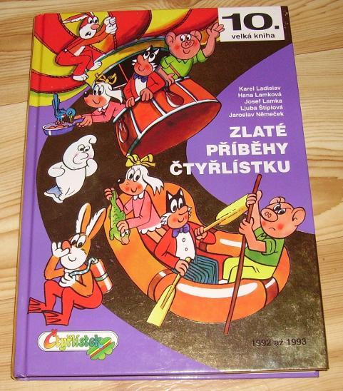 Velká kniha Čtyřlístku 10: Zlaté příběhy Čtyřlístku - 1992-1993 - Komiksy