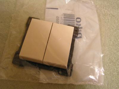 cream krytka Niko original 100-61505 pro vypínač č.5, 5B