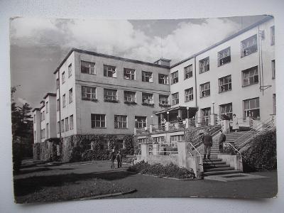Karviná Darkov lázně sanatorium hlavní budova Jód živá neprošlá 1961