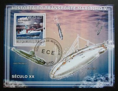Mosambik 2009 Ponorky Mi# Block 238 Kat 10€ 1533