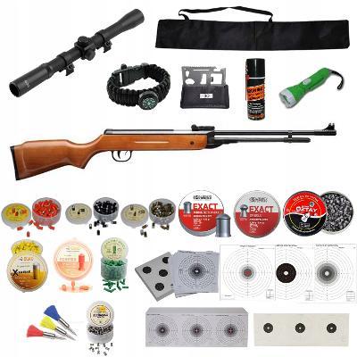 Vzduchová pistole B3 kal.4,5mm + SADA ZDARMA Puškohled