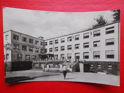 Karviná  3  Darkov lázně sanatorium jodové prošlá se známkou 1956