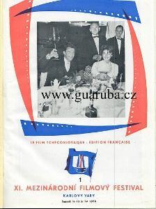 XI. Mezinárodní filmový festival Karlovy Vary 1958