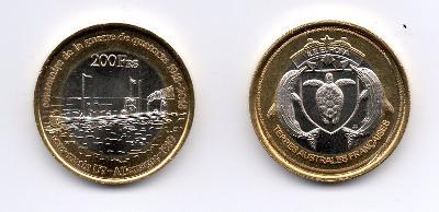 Europa 200 francs 2018 UNC - ponorka U9 - 1. světová válka