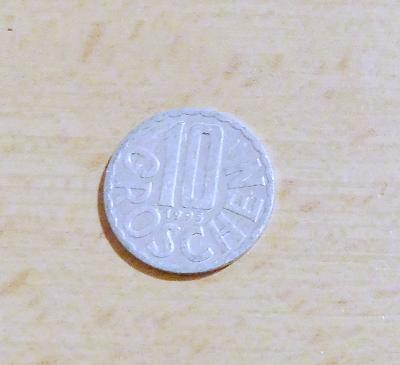 Rakousko -10 groschen 1995
