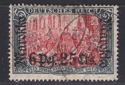 Deutsche Auslandpostämter MAROKO MiNr 58IAo 26/17 420EUR