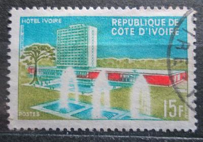 Pobřeží Slonoviny 1966 Hotel Ivoire Mi# 298 0565