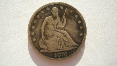 USA 1/2 dolar 1876
