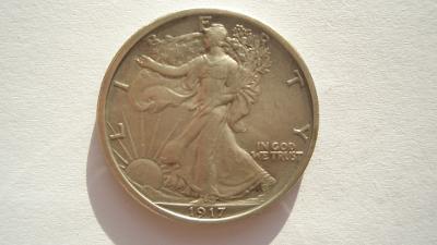 USA 1/2 dolar 1917