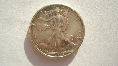USA 1/2 dolar 1918 S