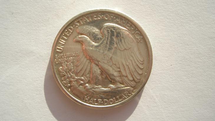 USA 1/2 dolar 1918 S - Numismatika