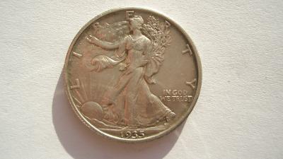 USA 1/2 dolar 1935 S