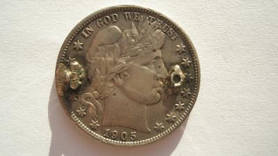 USA 1/2 dolar 1905 S
