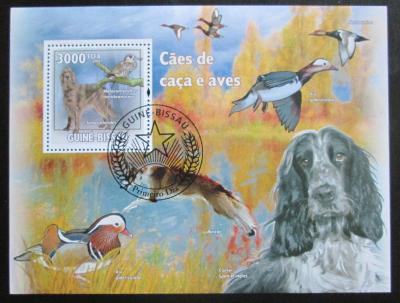 Guinea-Bissau 2009 Lovečtí psi a kachny Mi# Block 732 Kat 12€ 1501